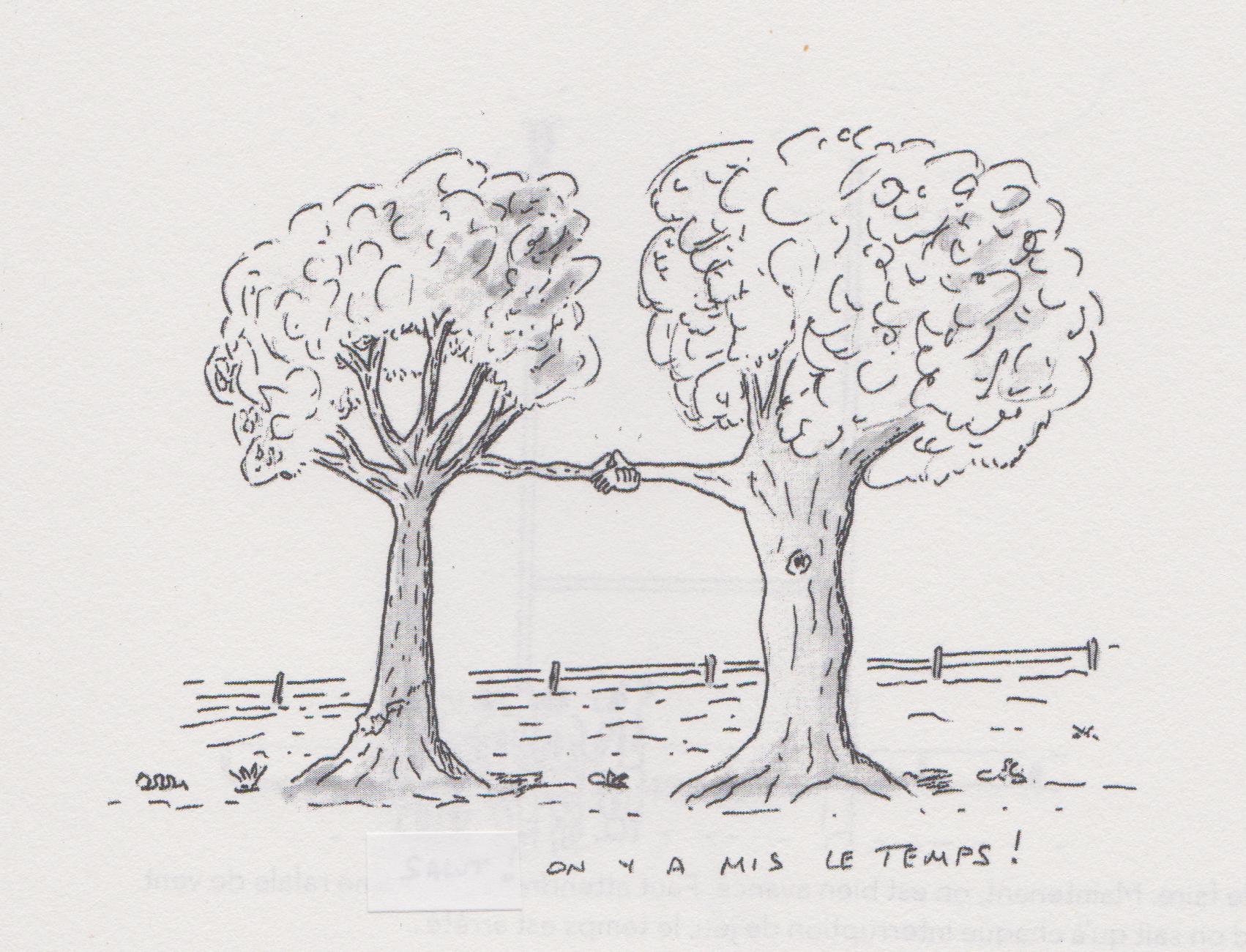 2 arbres gilbert laine
